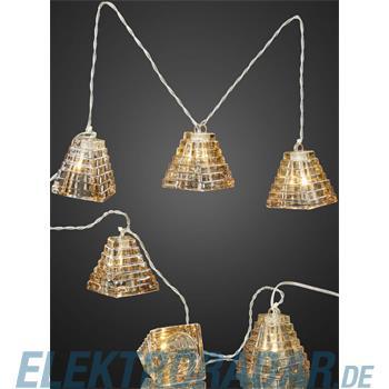 Hellum Glühlampenwer LED-Echtglas-Lichterkette 564037
