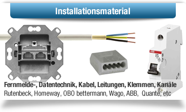 Installationsmaterial