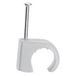 Legrand 31578 Nagelschelle für Kabel Ø 10-14mm grau