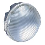 Legrand 62405 Feuchtraum-Leuchte rund 100W GlühlampenE27 anthraz