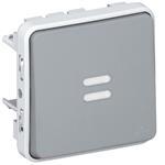 Legrand 69512 Wippschalter Aus-/ Wechsel Kontroll Feuchtraum Mod
