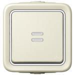 Legrand 69612 Wippschalter Aus-/ Wechsel Kontroll Feuchtraum Mod