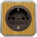 Siemens DELTA natur, ahorn SCHUKO- 5UB1651