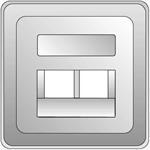 Elso Zentralplatte für UAE 2xRJ 206536