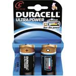 Procter&Gamble Dura. Batterie Alkaline Ultra Power-C Bli.2