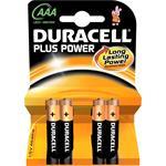 Procter&Gamble Dura. Batterie Alkaline PlusPower-AAA Bli.4