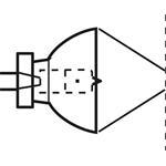 Osram Halogen-Reflektorlampe 64617 S