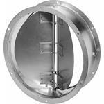 Helios Rohr-Verschlussklappe selb RVS 450