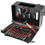 Cimco Rindsleder Werkzeugkoffer 17 6328