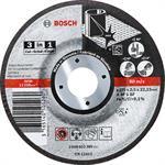 Bosch 3-in-1 Scheibe 2 608 602 389