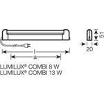 Osram Lumilux Combi-Leuchte 72021 EL-N