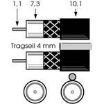 Televes (Preisner) Koax-Erdkabel EK 1672 TR