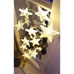 Hellum Glühlampenwer LED Sternenlichterkette 570410