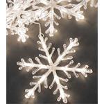 Gnosjö Konstsmide LED Schneeflockenkette 5er 4439-103