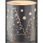 Hellum Glühlampenwer LED-Deko Weihnachtsmann 521245