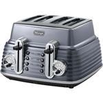 DeLonghi Toaster CTZ 4003.GY grau
