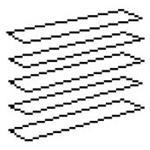 Trilux Blendschutzlamelle 0861BLS