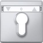 Merten Zentralplatte alu 348260