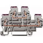 WAGO Kontakttechnik Doppelstockklemme 870-509
