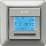EHT Haustechn.AEG Raum/Fußb.Temperaturregler FRTD 903 S