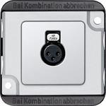 Merten Audio-Steckbuchse mat/si 460860