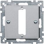 Merten Zentralplatte alu 468360