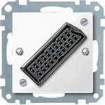 Merten Zentralplatte pws/gl 468419