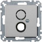Merten Zentralplatte alu 468560