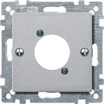 Merten Zentralplatte alu 468960
