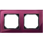Merten Rahmen Glas 2f.rrt 489206