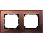 Merten Rahmen Glas 2f.mah/br 489215