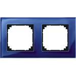 Merten Rahmen Glas 2f.saph/bl 489278