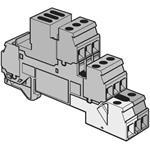 ABB Stotz S&J Klemme D4/6 LNTP1 gn-ge