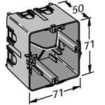 OBO Bettermann Geräteeinbaudose 7GDZ RAL9011