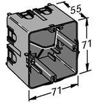 OBO Bettermann Geräteeinbaudose 7GD3Z RAL7011