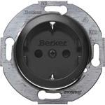 Berker Steckdose sw/gl 474521