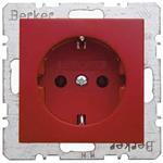 Berker SCHUKO-Steckdose rt/gl 41438912