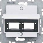 Berker Zentralplatte für 1 oder 2 14721404