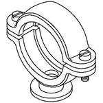 OBO Bettermann ISO-Sockelschelle 2960 22 M6 LGR