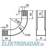 OBO Bettermann Vertikalbogen 90Grad RBV 610 S FS