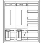 Eaton Zählerschrank ZSD-2/019