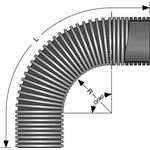 Fränkische Kabuflex-Bogen 90Grad 19080160