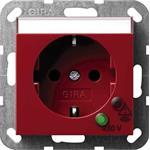 Gira Schuko-Steckdose rt/gl 045102