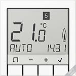 Jung Raumtemperaturregler Stdrd TR D A 231 AL