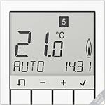 Jung Raumtemperaturregler Stdrd TR D A 231 MO