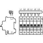 ABB Stotz S&J Phasenschienenblock SZ-PSB-130N