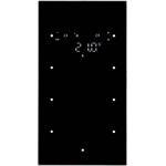 Berker Glas-Sensor 3fach mit Raum 75643135