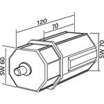 Rademacher Kunststoffkapsel VK 4031