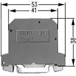 Siemens PEN-Klemme 8WA1011-1PK00