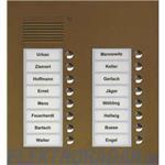 TCS Tür Control Audio Außenstation PUK 16 PUK16/2-EB